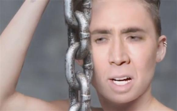 Miley Cyrus 'Wrecking Ball' (Nicolas Cage Edit) Is Terrifying