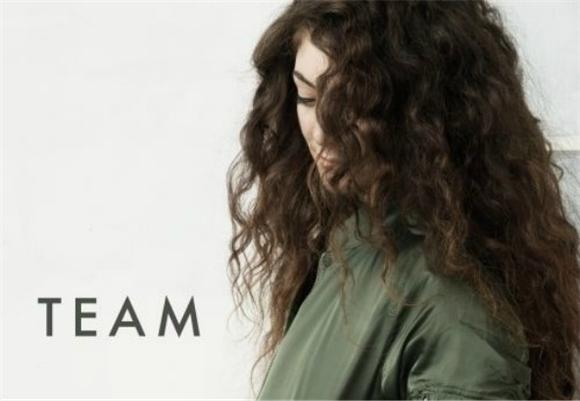 Lorde Share's New Single, 'Team'