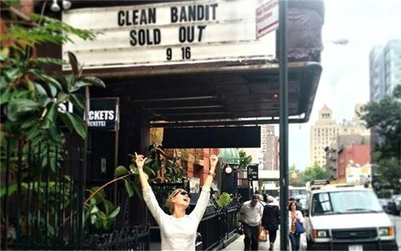 CLEAN BANDIT SWEEPS WEBSTER HALL CONCERTGOERS OFF THEIR FEET