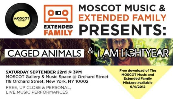 MOSCOT and Extended Family Presents: A Series Of Free NYC Shows