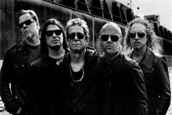 Stream: Lou Reed and Metallica