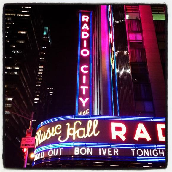 Bon Iver Quietly Rocks Radio City Music Hall