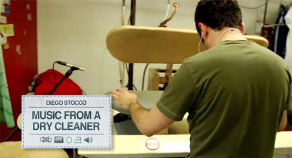 Watch: Diego Stocco's Dry Cleaner Jam