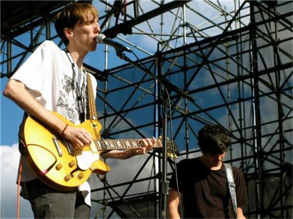 now playing: deerhunter @ mccarren park pool - brooklyn, ny