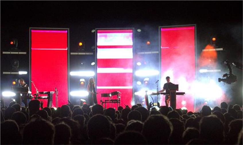 THROWBACK THURSDAY: CHVRCHES Live In Central Park - One Year Later