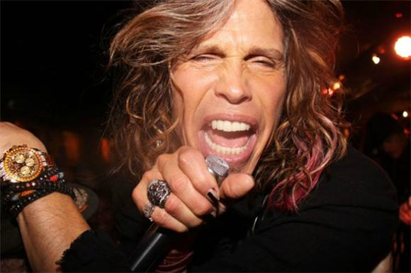 Steven Tyler Eats Tons Of Chipotle