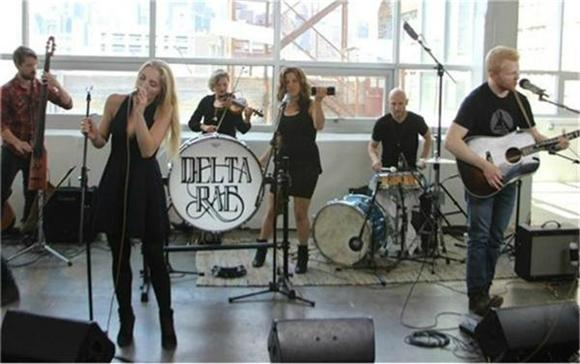 'Chasing Twisters' With Delta Rae at the Music Hall of Williamsburg