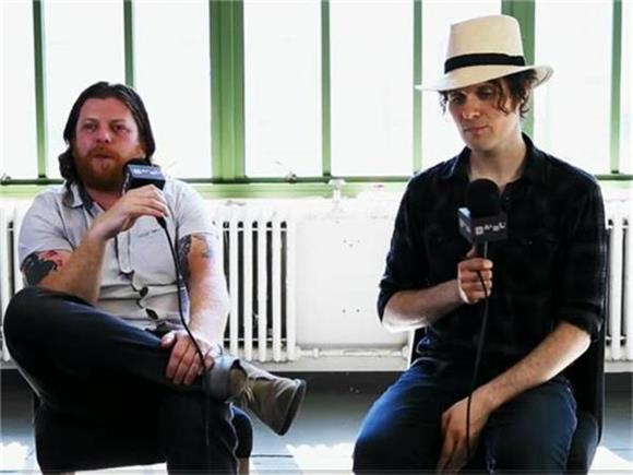 THROWBACK THURSDAY: In Session with The Fratellis