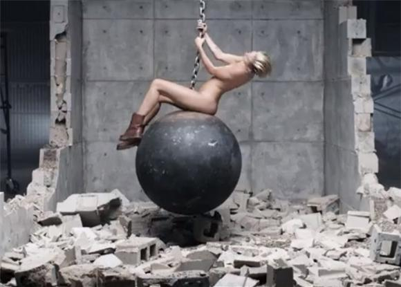 Miley Cyrus Is Pretty Naked In Her Terry Richardson-Directed 'Wrecking Ball'