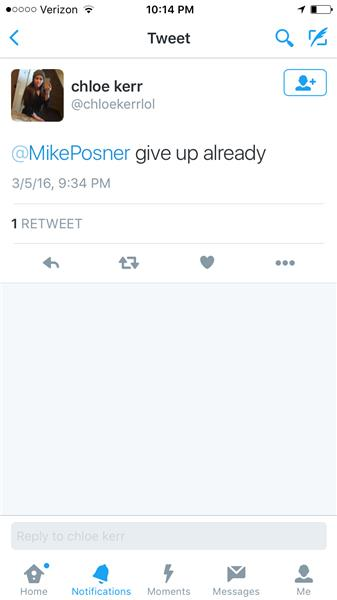 Mike Posner Hate Mail
