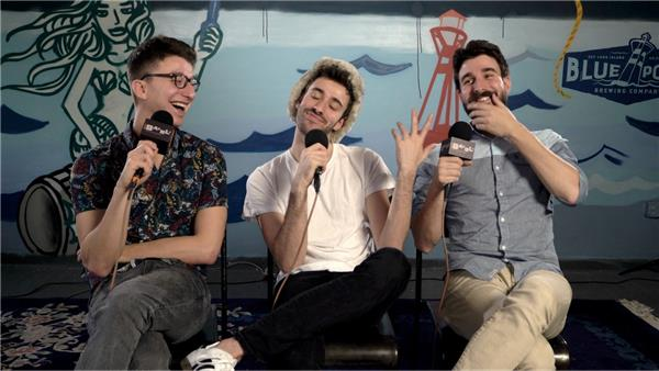 AJR at Baeble HQ
