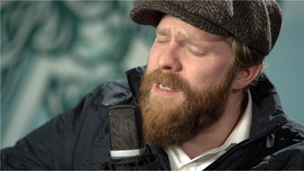 Alex Clare at Baeble HQ