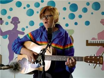 Brett Dennen live at Baeble HQ