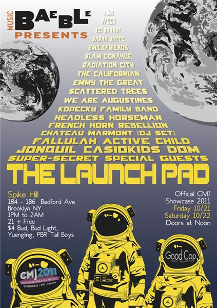 CMJ 2011 - The Launch Pad