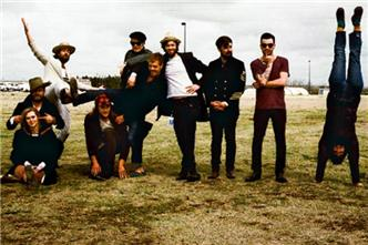 Edward Sharpe and the Magnetic Zeros live at World Cafe Live