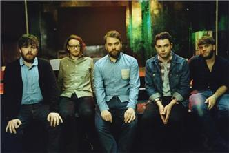 Frightened Rabbit live at Brooklyn Art Library