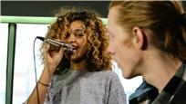 Izzy Bizu live at Baeble HQ