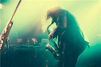 Jim James live at Hype Hotel