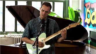 Jordan Rakei live at Baeble HQ