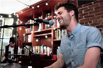 Jukebox the Ghost live at Baeble HQ
