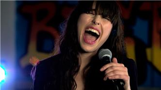Kimbra live at Baeble HQ