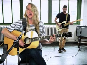 Lissie live at Baeble HQ