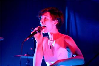 Polica live at Music Hall of Williamsburg