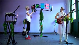 Sofi Tukker live at Baeble HQ