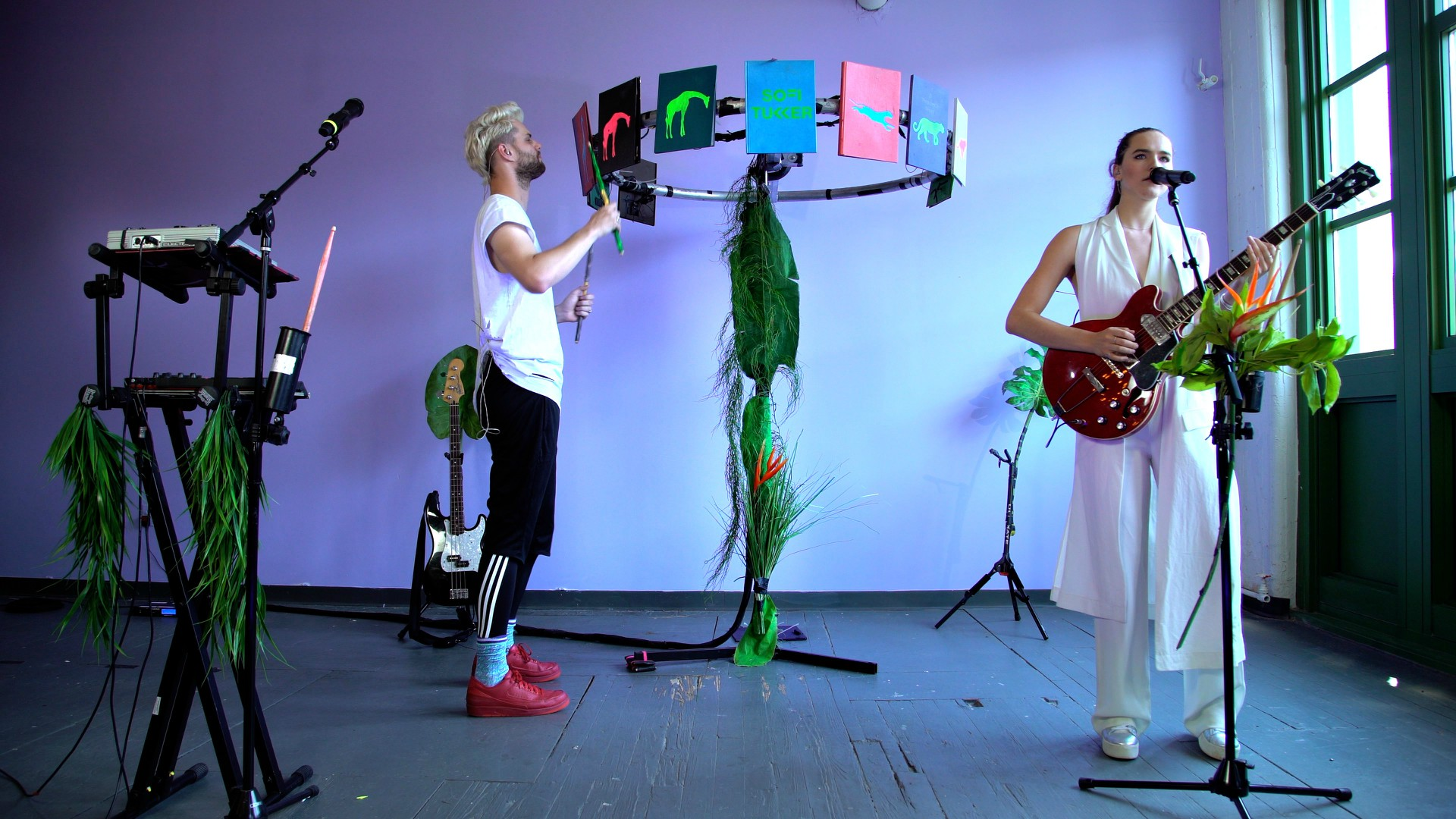 Sofi Tukker at Baeble HQ