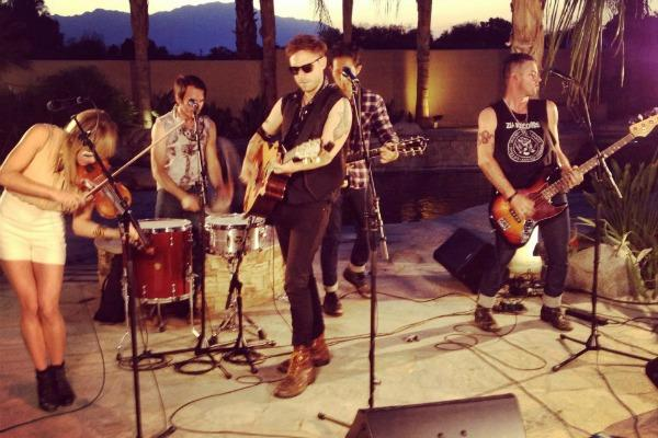 The Airborne Toxic Event at Festival Fever Sessions