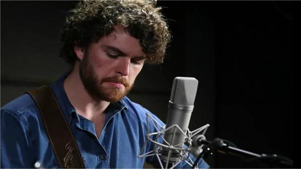 Vance Joy at Atlantic Records Recording Studio