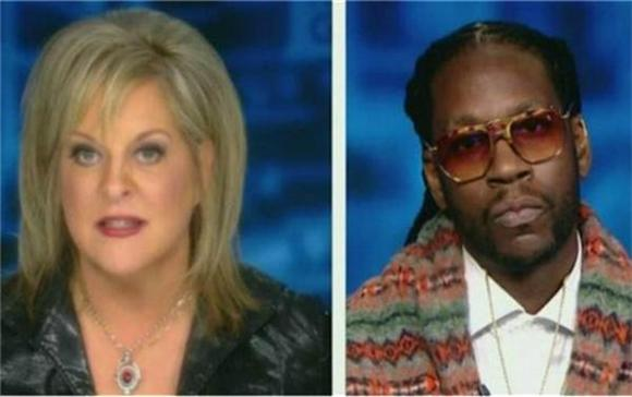 Watch 2 Chainz And Nancy Grace Debate Pot Legalization