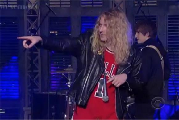 The Orwells Sparked Some Strange Into Letterman