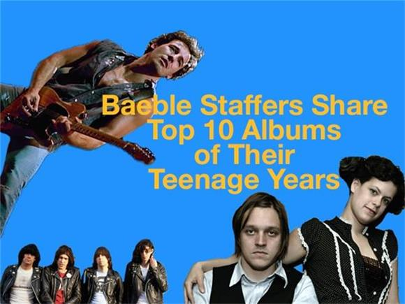 Baeble Staffers Share The Top 10 Albums of Their Teenage Years
