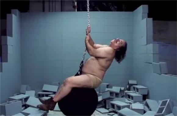Ron Jeremy Plays His Raunchiest Role Yet: Miley Cyrus