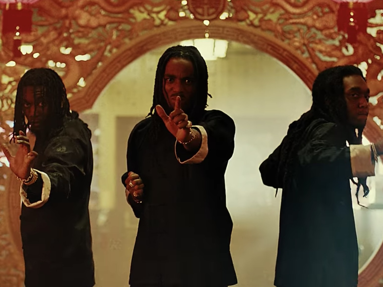Migos' New Video For 'Stir Fry' Is Campy Kung-Fu Goodness