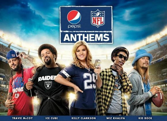 Pepsi Anthems: 7 NFL Bad Luck Charms