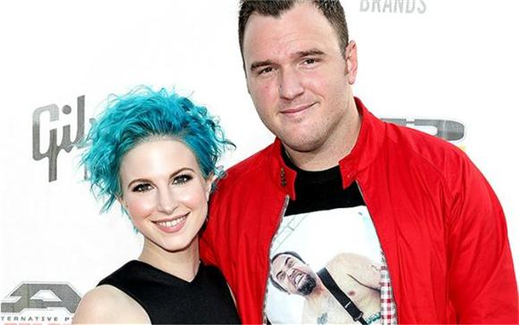 Hayley Williams Is Engaged To New Found Glory's Chad Gilbert