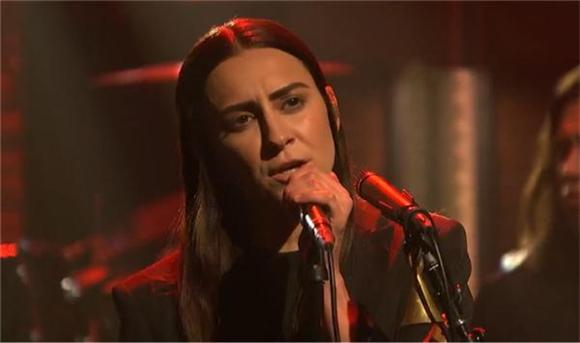 See Haerts Grow 'Wings' And Fly On Seth Meyers