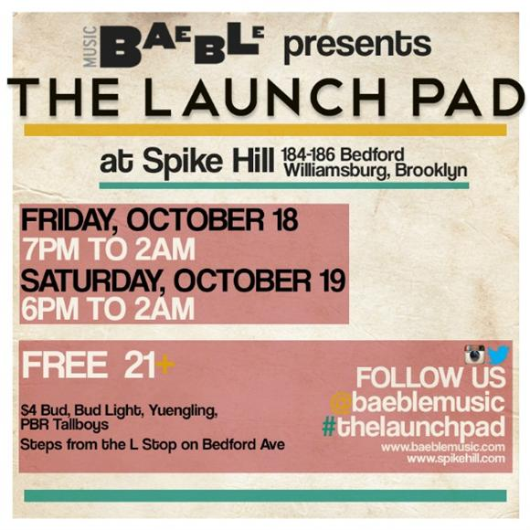ANNOUNCING: Baeble's Annual CMJ Showcase!