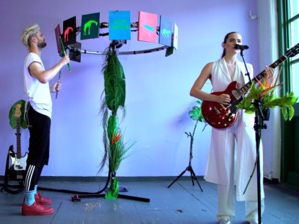 NOW PLAYING: The Writer's Block with Sofi Tukker