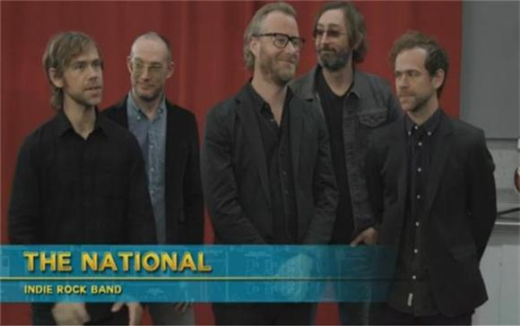 Arcade Fire Gets Burned By The National on Comedy Bang! Bang!