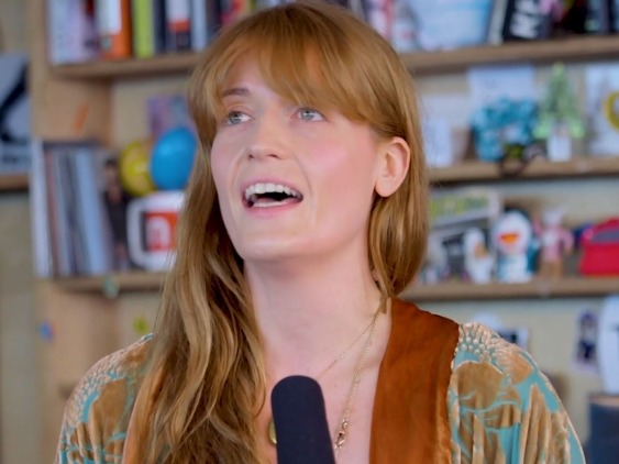 Florence and the Machine stun the Tiny Desk Concert