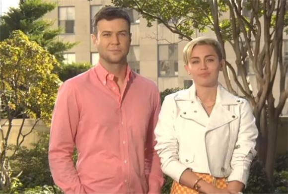 Miley Cyrus' SNL Promos Are Tame But Still Uncomfortable