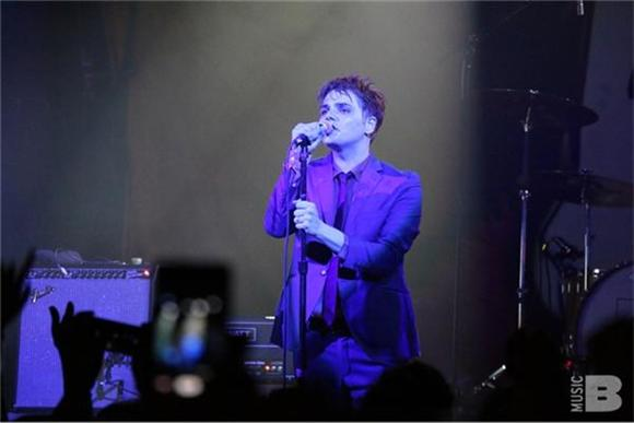Out And About: Gerard Way At Irving Plaza