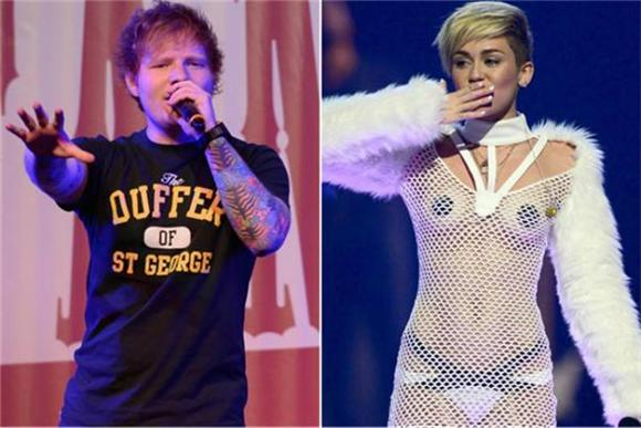 Ed Sheeran Takes Foot Out Of Mouth, Apologizes To Miley Cyrus