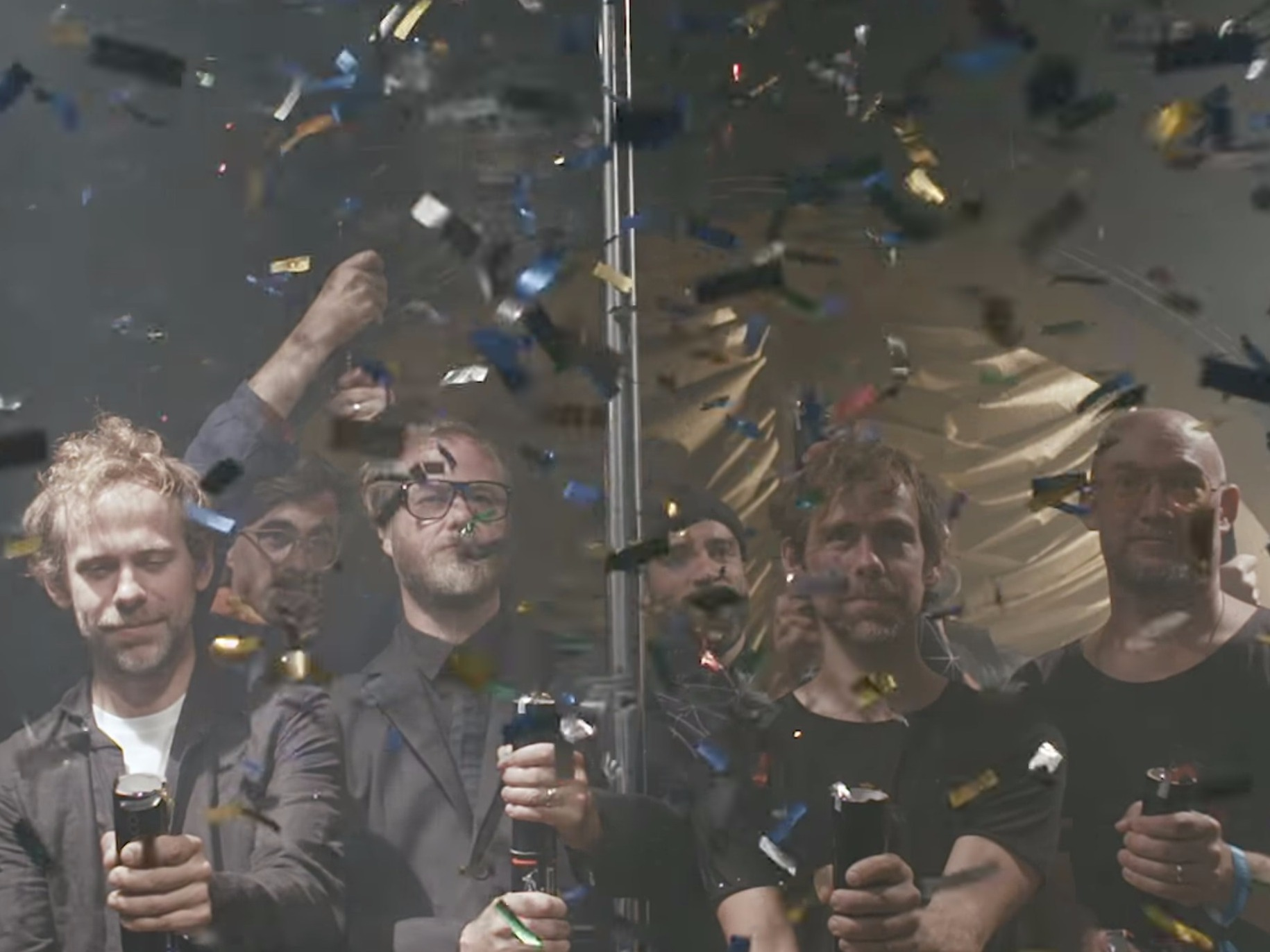 The National Hosts The Party Of The Year In Latest Video
