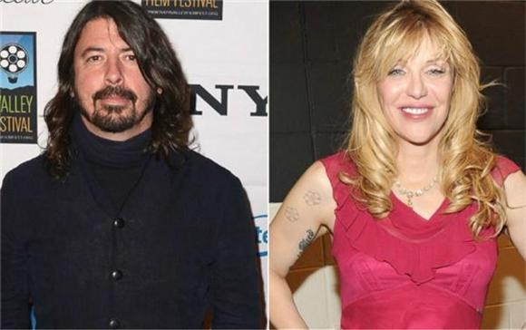 Courtney Love And Dave Grohl's Bizarre Stripper Bet