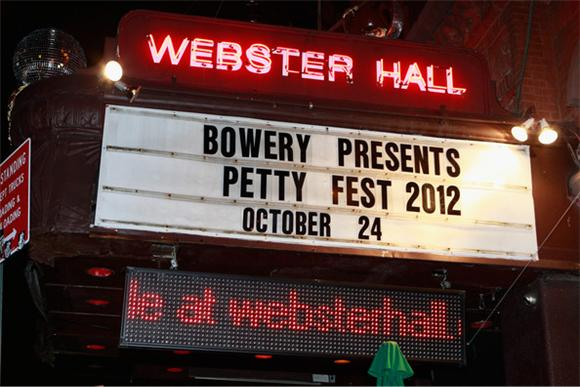 Petty and Surprise Friends Hit Webster Hall
