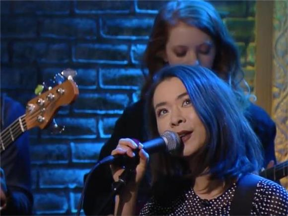 Watch Mitski's Flawless Performance On The Late Show